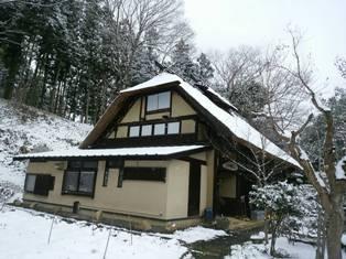 雪の古民家2