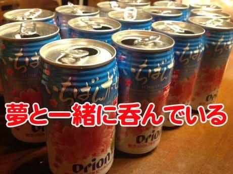正月 オリオンビール