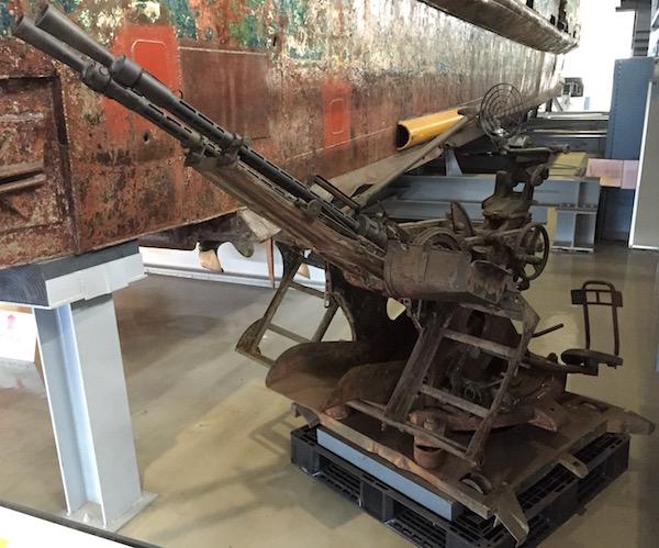 工作船機銃