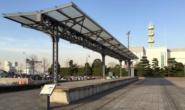 横浜港駅跡