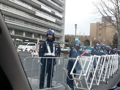 日教組教研集会抗議岩手2