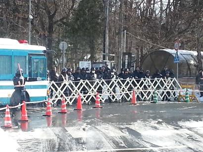 日教組教研集会抗議岩手4