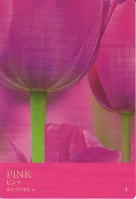 カラーカード:ピンク