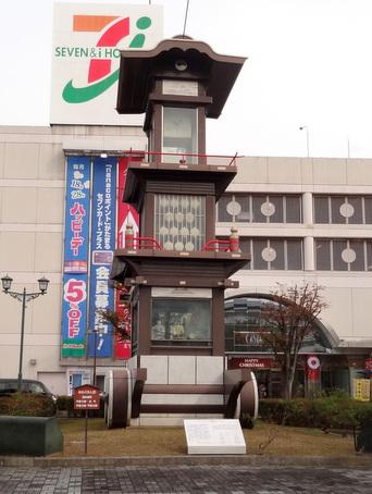 犬山駅前からくり時計1