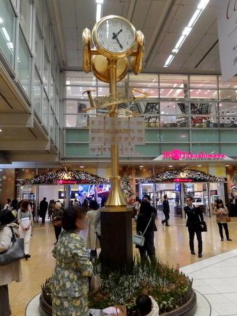 名古屋駅金の時計
