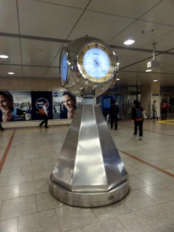 名古屋駅銀の時計