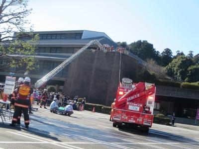 高い建物からの救助
