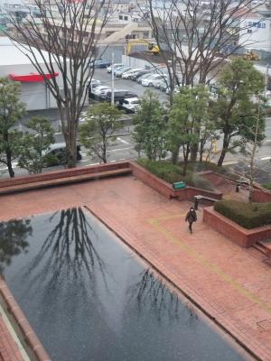 厚木市文化会館の池