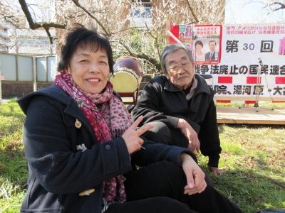 田中市議と栗山さん