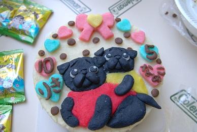 はらぽんちゃんケーキだぁ~