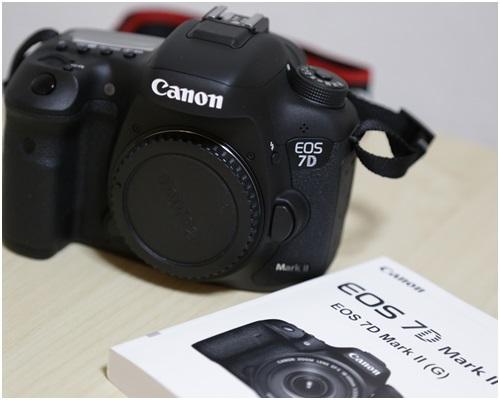 新しいカメラ7D