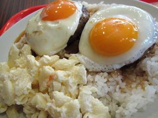 201102 L&L Hawaiian Dining Cafe (Shibuya) - Loco Moco