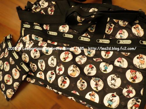 201505 ワイケレ・プレミアム・アウトレットで買う スポートサック、USA 限定セレブレイト ミニーのボストンバッグ