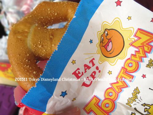 2015年 Tokyo Disneyland(東京ディズニーランド)のクリスマス 雨の日曜日 その2 食べる(ファストフード)