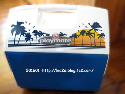 2011年11月 スコで買ったイグローなクーラーボックス Playmate 16L ¥2,180