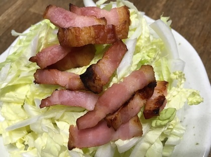 カリカリベーコン白菜サラダ