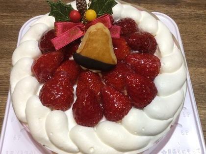 いちごのケーキ!