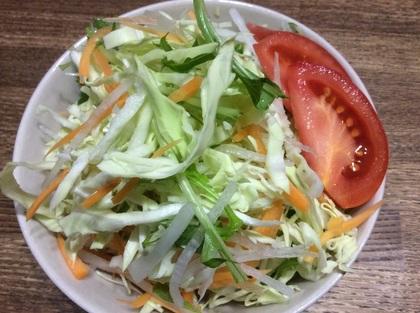 山盛り千切り野菜