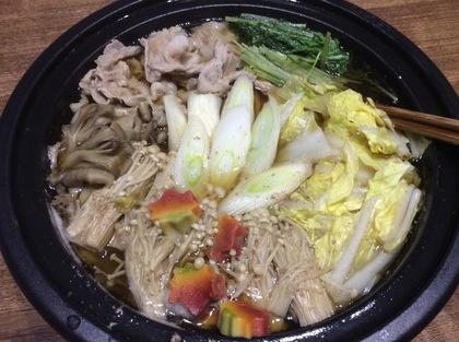 野菜たっぷり鍋