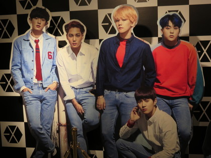 EXO展示会1