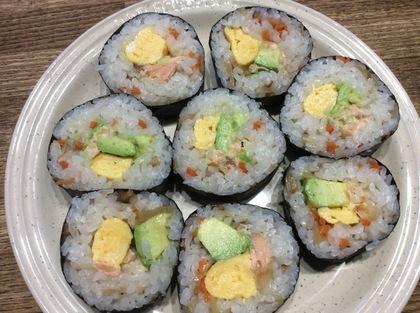 五目寿司の素の海苔巻き