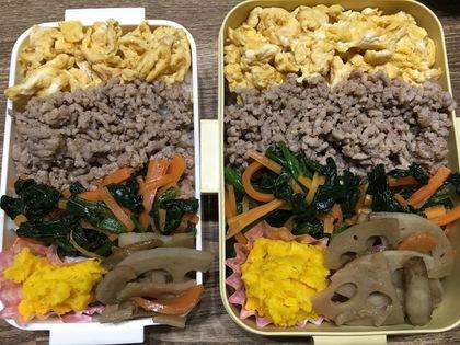 4色丼弁当