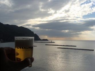松崎に乾杯