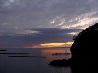 松崎の夕景⑦