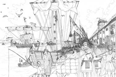 古代ローマ 港湾設備