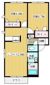 シャーメゾン楽音寺JK 101