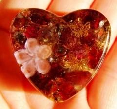 花と蝶(ピンク)2