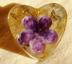 花と蝶(紫)1