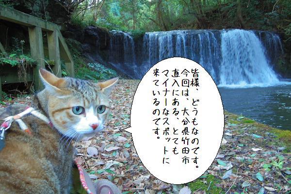 狸穴の滝1