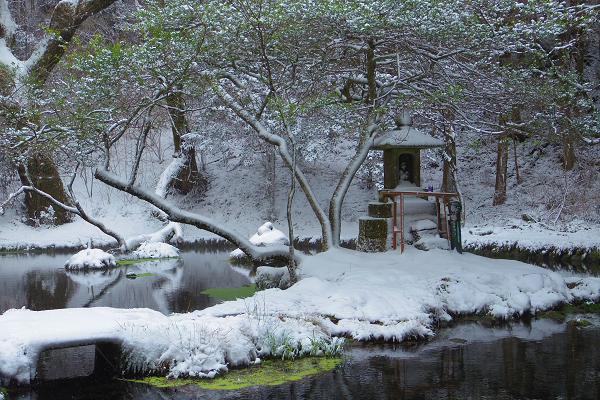 冬の山吹水源4