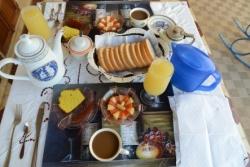 パルティクラの朝食