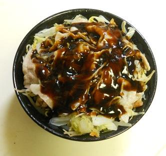 広島風お好み焼き風丼6