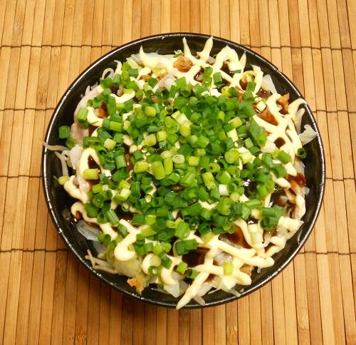 広島風お好み焼き風丼7