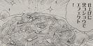 滝さんのフライパンカルボナーラ図