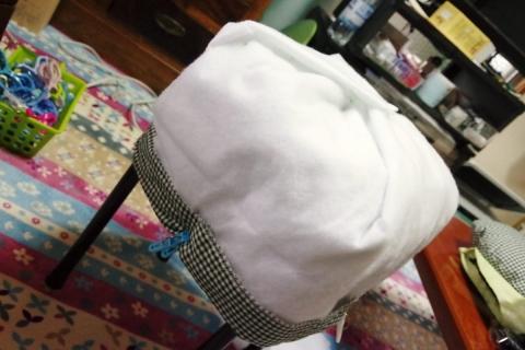 魔法の鍋帽子 試作品1号