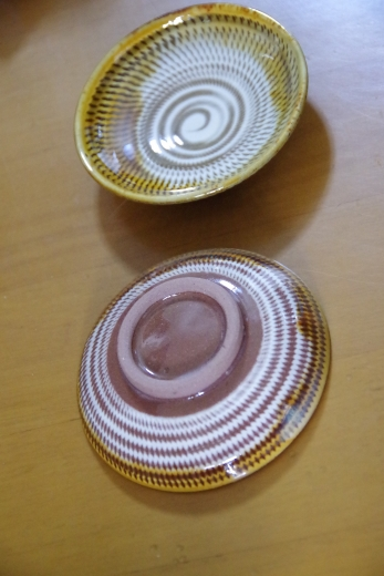 小石原焼 小野窯のお皿