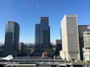日本橋すし鉄 本店(東京駅大丸内) からの景色 東京駅を見渡す