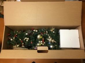 面倒なクリスマスツリー片付けを超簡単、最速で行う♪