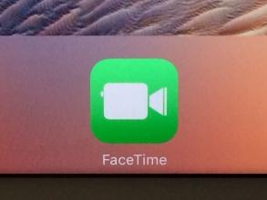 FaceTimeでテレビ電話