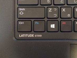 【必見キャンプ生活】 DELLノートPCのファンクションキーを使う時、Fnキーを押さないといけないのが不便!