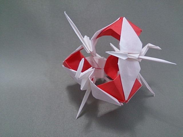簡単 折り紙 : 折り紙ランド : mainitiuniuni.blog.fc2.com