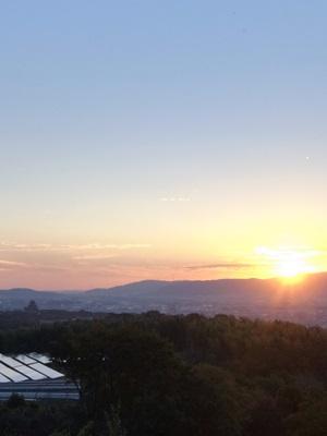 大岩山夕景1511