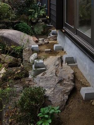 Ino縁側束石②1512