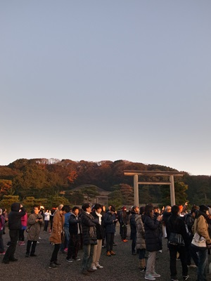 桃山御陵初日の出1601