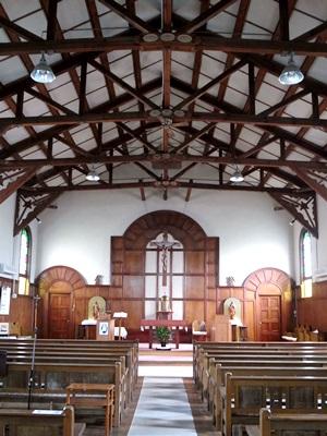 カトリック伏見教会内部1603