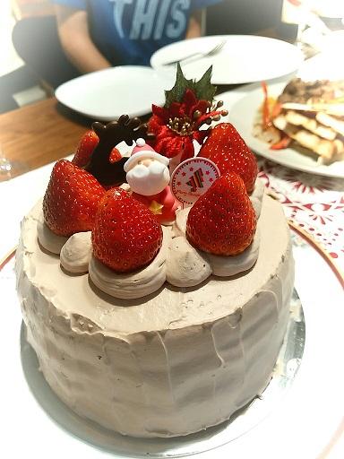 20151223クリスマスケーキ